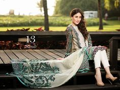 Faraz Manan Crescent Lawn Collection Spring/Summer 2015 Complete ...