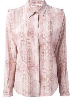 SEE BY CHLOÉ Printed Long Sleeve Shirt