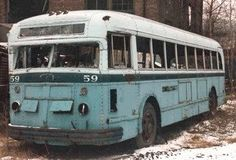 Detroit Transit History Info Bus Amp Trolley Photos 1950 S