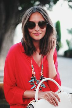 Polienne | a personal style diary: RED SUNDRESS