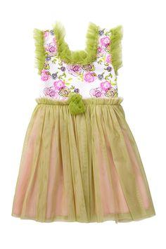 Hatch & Cloak Blushing Blooms Tulle Dress