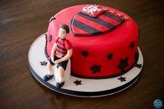 Bolo Personalizado do Flamengo