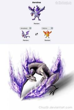 This is a badass pokemon fusion