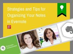 Get Untethered with Evernote - Strategies & Tips for Organizing Your Notes - YouTube