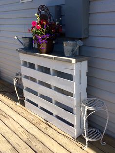 My DIY pallet table project!