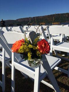 Mason jars flowers by carole NY