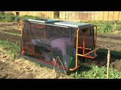 Wunda Weeder - demonstration video of the new solar-powered weeding machine. As featured on ABC New Inventors. Garden Crafts, Garden Tools, Farm Tools And Equipment, Chicken Coop Designs, Mini Farm, Weed Killer, Inventors, Urban Farming, Organic Farming