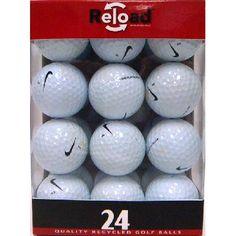 48 Nike One Platinum Recycled Golf Balls