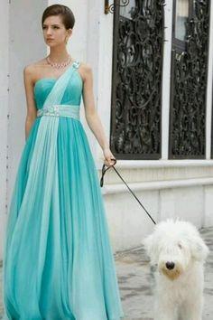 Blue Tifanny dress