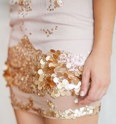 sequin dress by aje