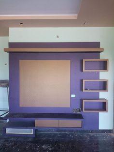 Living Room Tv Unit Designs, Wall Unit Designs, Tv Stand Designs, Bedroom Cupboard Designs, Lcd Wall Design, Lcd Unit Design, Wardrobe Design Bedroom, Bedroom Furniture Design, My Home Design