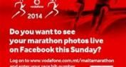 Over 1M Facebook Impressions for Vodafone Branded Sports Pictures at 2014 Malta Marathon Using Pic2Go