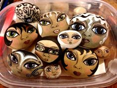 Teesha Moore --- painted rocks