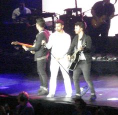 Yes I love the Jonas Brothers :) taken by me at their concert earlier this week!