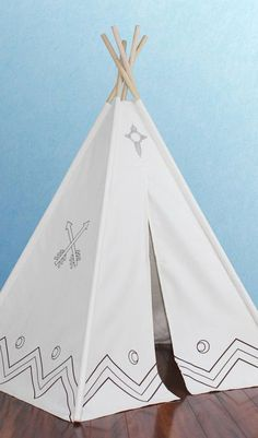 Canvas Color-Me Teepee