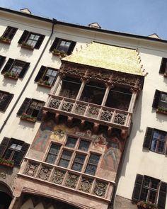 Goldenes Dachl #visitinnsbruck #visittyrol Innsbruck, Super, Austria, Travel, Tips, Viajes, Destinations, Traveling, Trips