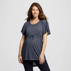 Clothing, Shoes & Accessories Reliable L Maternity Long Sleeve Shirt Liz Lange Target Tops