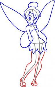 Disney - How to Draw Tinkerbell