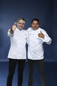 Oscar Segundo and his Mentor Mikel Alonso representing Central America Caribbean. Photo credit: Gianni Rizzotti.