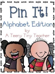 Pin It! Alphabet Edi