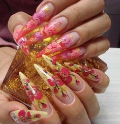 Gorgeous Attractive Long Nail Designs