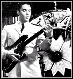 Elvis with Fender bass
