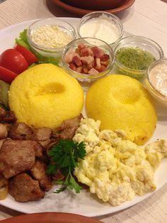 Mamaliga (Dense Cornmeal Bread) | Moldova | Pinterest | Breads, Recipe ...