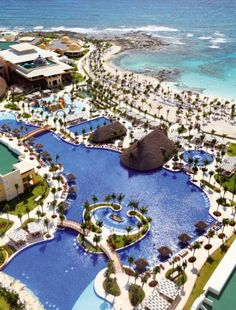 World's Best Resort Pools: Barcelo Maya Palace Deluxe, Mayan Riveria - I can check this one off the list!