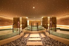 Spa Pool at Swisstouches Hotel Xi'an, designed by HBA/Hirsch Bedner Associates