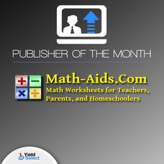 March's publisher of the month is Math-Aids.com.  Our optimization team was able to boost their earnings.