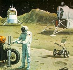 Paleofuture - Paleofuture Blog - Lunar Colonies of the Future (1969)
