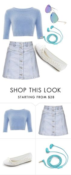 """Untitled #16"" by kimberly-rosas-1 ❤ liked on Polyvore featuring Topshop and FOSSIL"