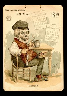 """★ Antikamnia Chemical Company Calendars, 1897 / 1903 (1899, May, June) 