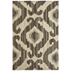 It's no secret. Made with an ancient, global-chic weaving technique, this ikat rug is designed to last. The comfort afforded by its hand-tufted wool and cotton backing? That never gets old either. We suppose the ikat is really out of the bag now.
