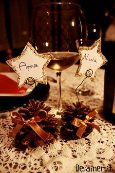 segnaposti natalizi fai da te