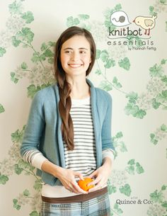 """""""Knitbot Essentials"""" from Hannah Fettig and Quince & Co.I am so excited about this book I can't stand it.I want to start knitting all the sweaters in it NOW. Knitting Blogs, Knitting Designs, Free Knitting, Knitting Projects, Start Knitting, Yarn Projects, Carrie, Knitting Magazine, Knit Picks"""