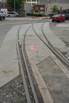 photos New York Cross Harbor Railroad | New York Cross Harbor Railroad - Street Trackage at Bush Terminal ...