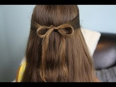 The Subtle Bow Hairstyle... so easy! {with Guests Elle & Blair Fowler}