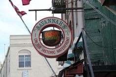 Savannah River shop sign