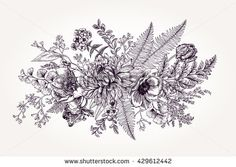 Summer Vector Vintage Floral Stock Photos, Images and Photos | Shutterstock