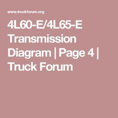 4L60-E/4L65-E Transmission Diagram | Page 4 | Truck Forum