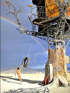 Burning Man Treehouse