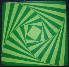 Peinture - Bouleversement bichromique