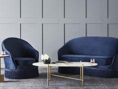 globewest kennedy fringe sofa navy blue velvet sofa globewest