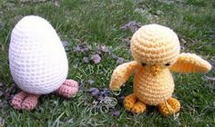 egg and chick crochet pattern