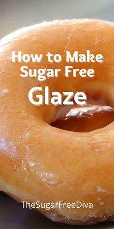 Sugar Free Donuts, Sugar Free Deserts, Sugar Free Fruits, Sugar Free Baking, Keto Donuts, Sugar Free Sweets, Sugar Free Cookies, Donuts Donuts, Baked Donuts