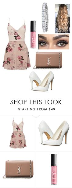 """formal look"" by fashionblogger2122 on Polyvore featuring Lipsy, Michael Antonio and Yves Saint Laurent"