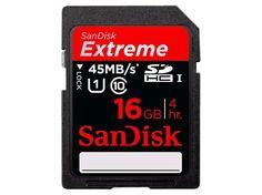 SanDisk Extreme SDHC Class 10 UHS-I 45MB/s 16GB - Viser priser. Det finnes også 2 omtaler. Sammenlign Secure Digital-kort (SD) side ved side.