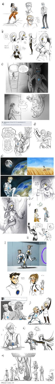 33 best portal images on pinterest videogames aperture science portal 2 sketchdump by pinali on deviantart malvernweather Gallery
