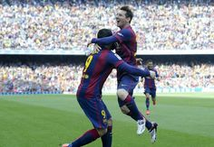 Barcelona Valencia: Messi scores goal to seal vital victory Valencia, Barcelona, Camp Nou, Lionel Messi, Scores, Victorious, Seal, World, The World